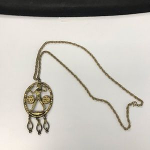 Jewelry - Vintage Egyptian Gold Necklace